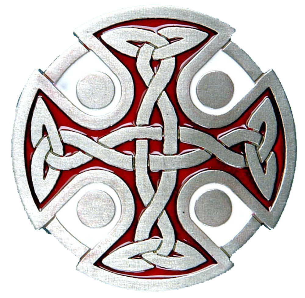 Celtic Cross - Red