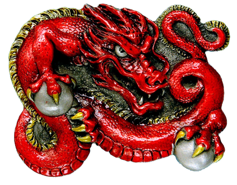 Chinese Dragon - red