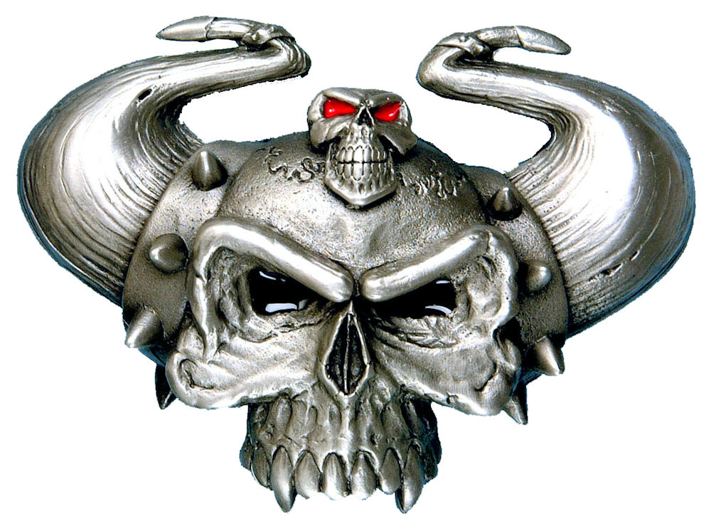 Horny Devil Belt Buckle