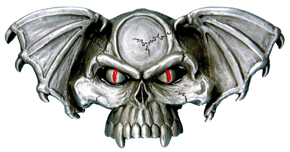 Winged Devil Belt Buckle