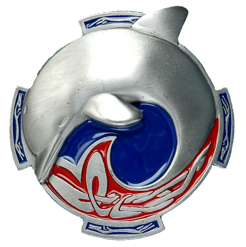 Celtic Dolphin Belt Buckle