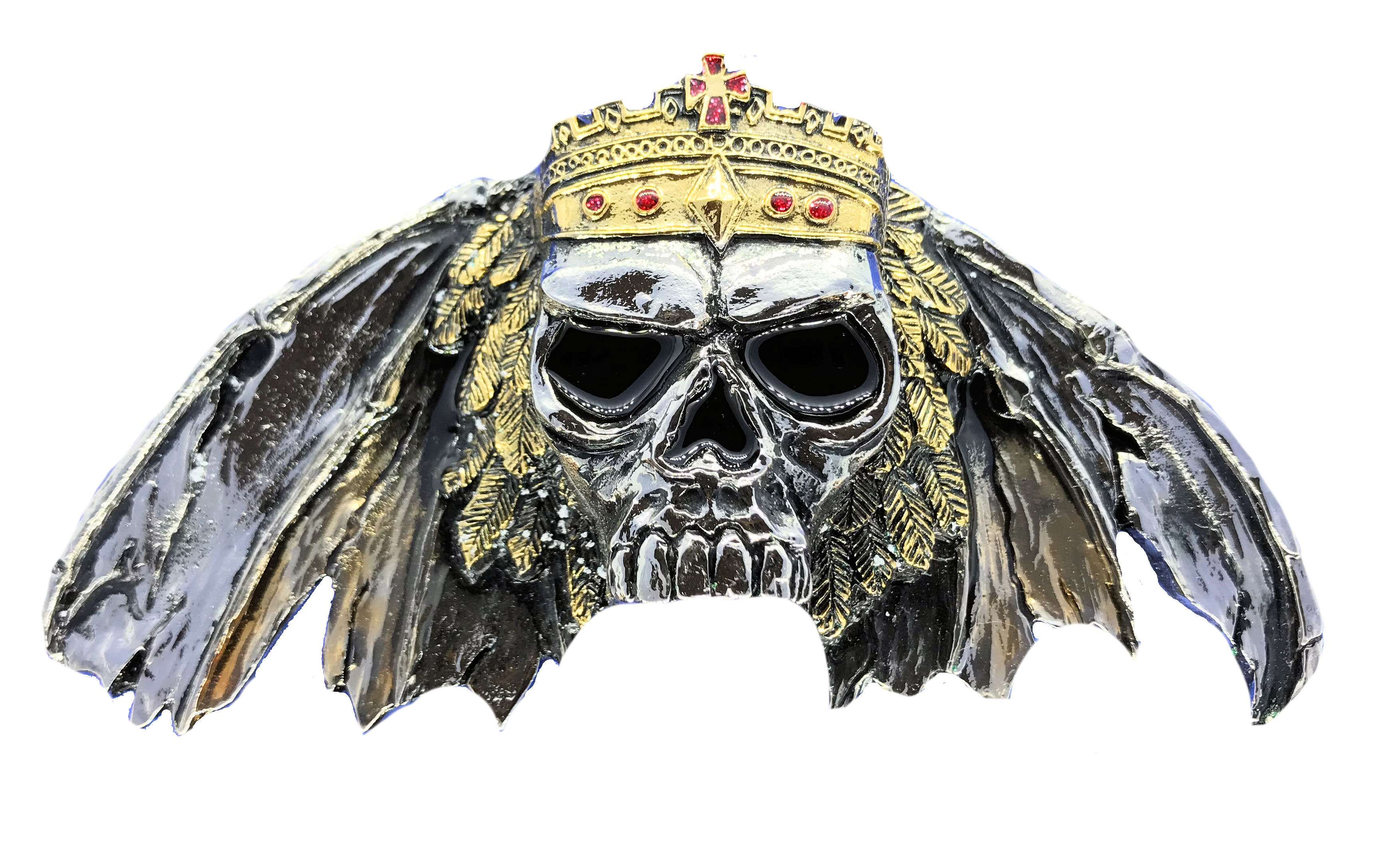 King of Death Gold & Silver Full Colour