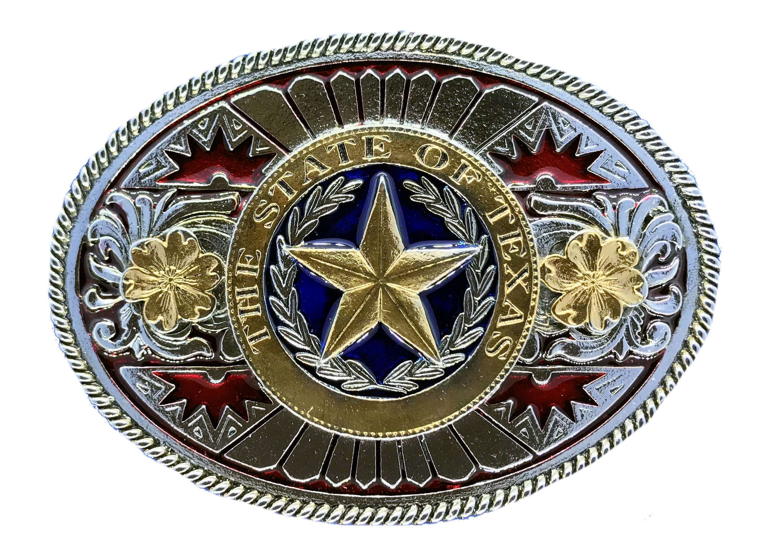 Texas Star Gold & Silver Plated Full Colour