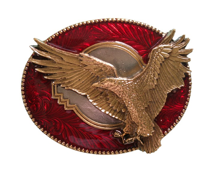 Flying Eagle Red And Gold