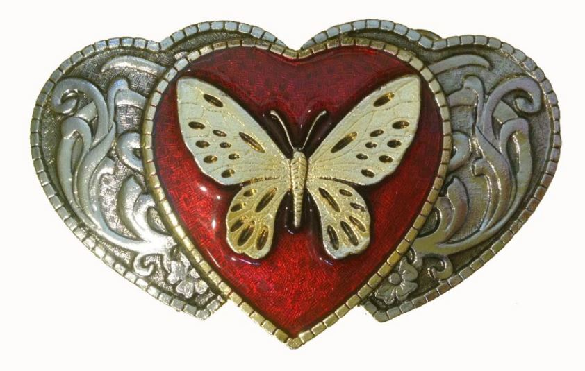 Butterfly On Hearts