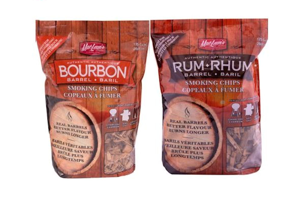 Bourbon Barrel smoking chips & Rum Barrel Smoking Chips