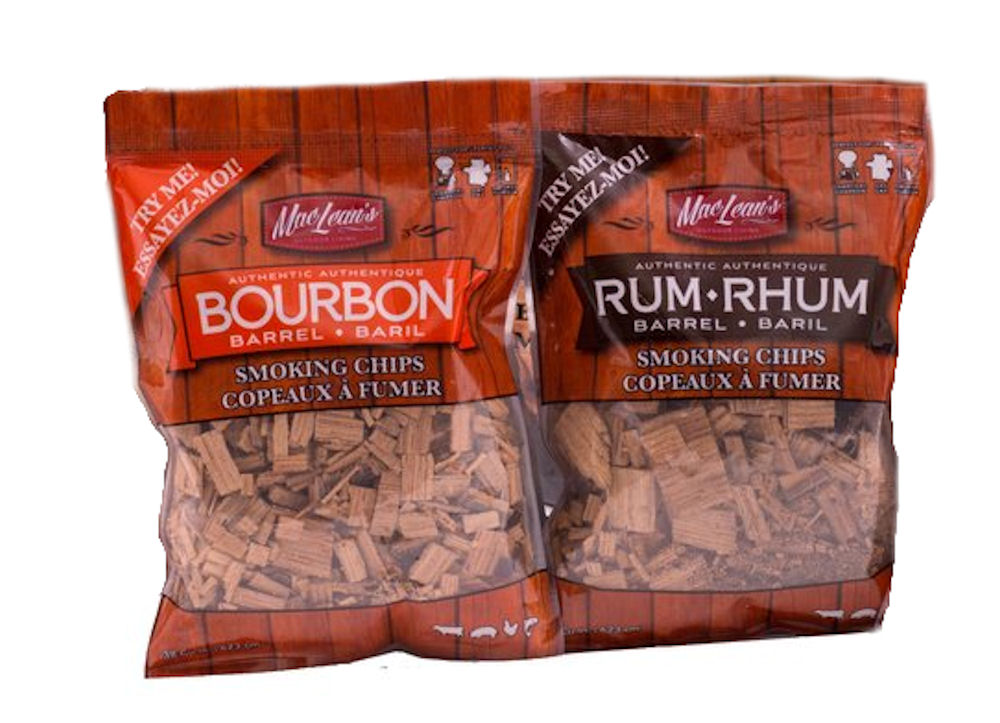Rum - Bourbon Smoking chips