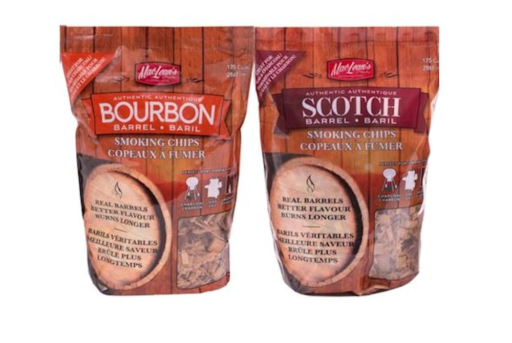 Scotch whiskey Barrel Smoking Chips - Bourbon Barrel smoking Chips
