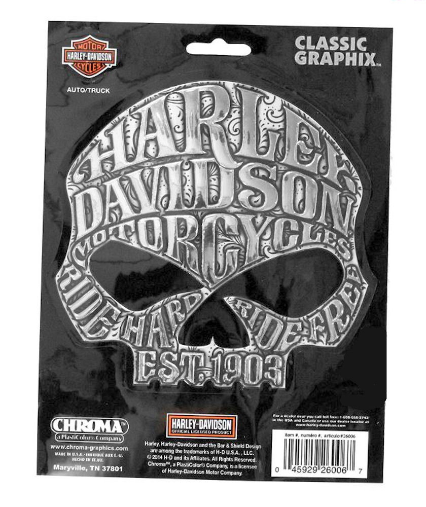 Harley Davidson Classic Graphix Decal