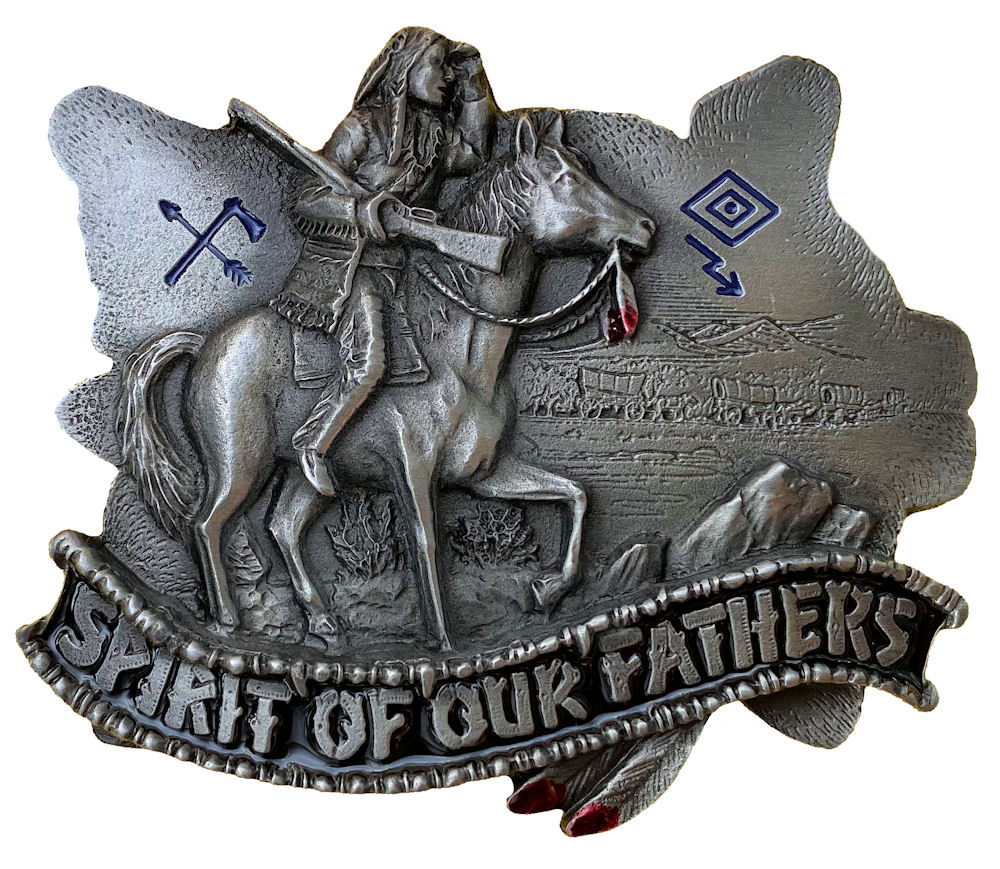 Spirit of our Fathers Belt Buckle