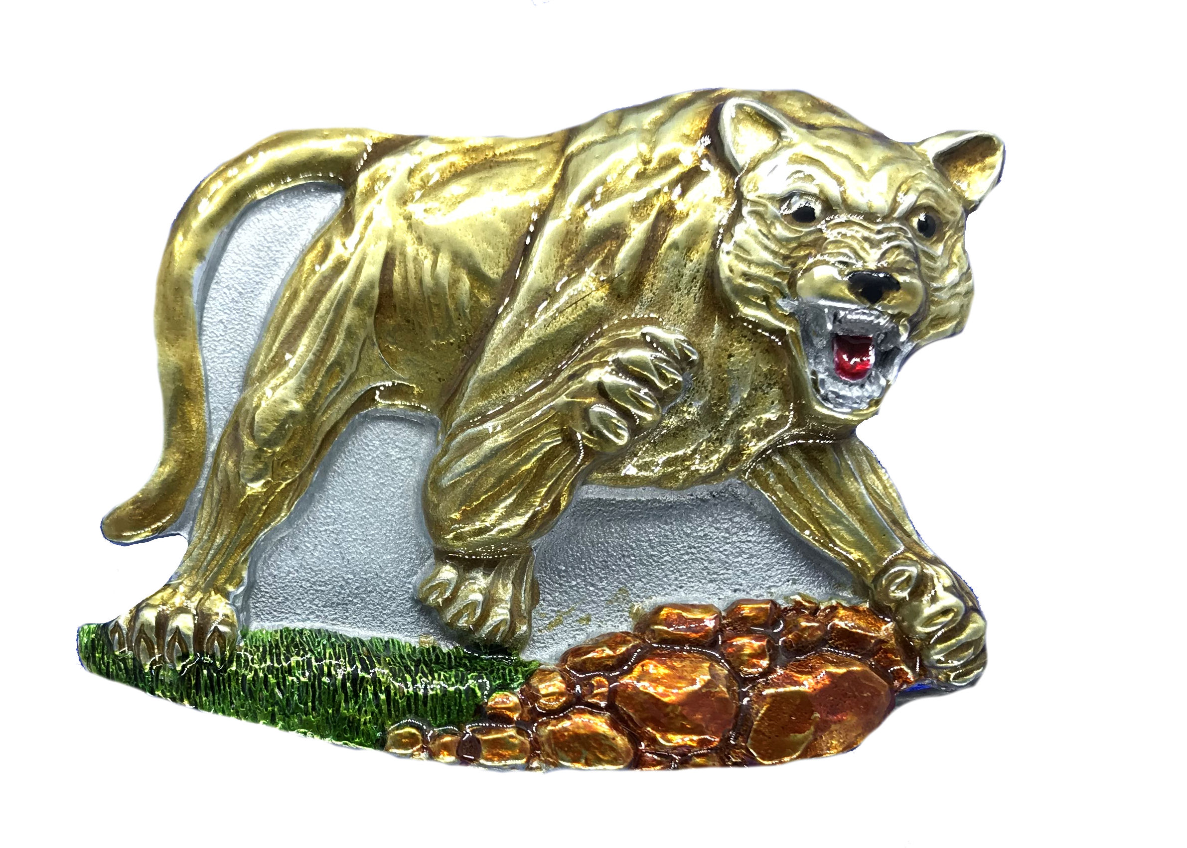 Mountain Lion  Belt Buckle