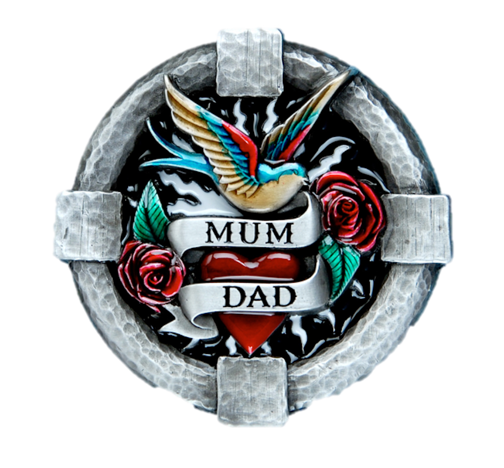 Mum and Dad Belt Buckle