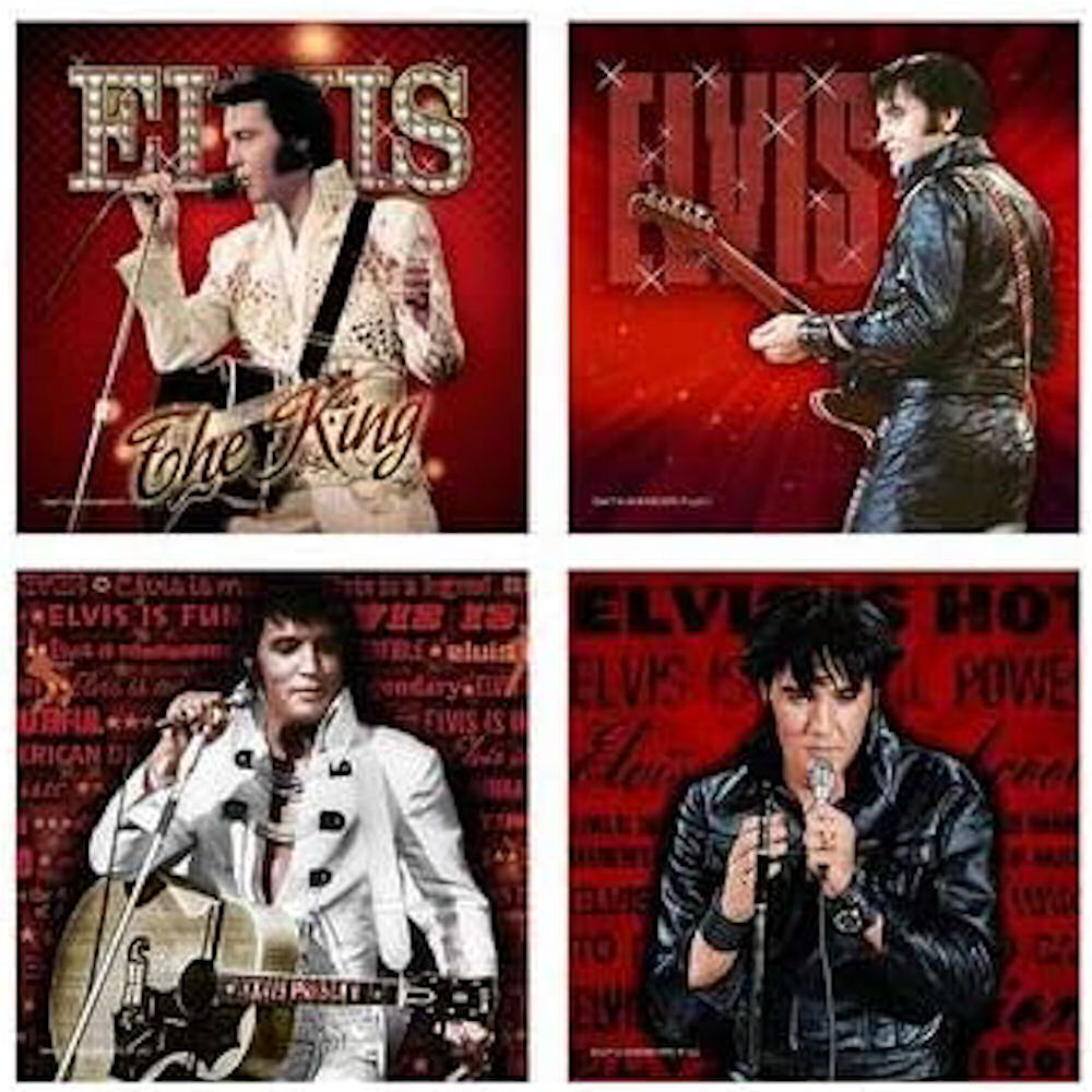 Elvis Coasters Red 68 Name,