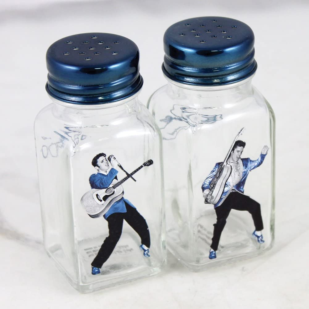 Elvis Presley Dancing Images On Salt And Pepper Shakers
