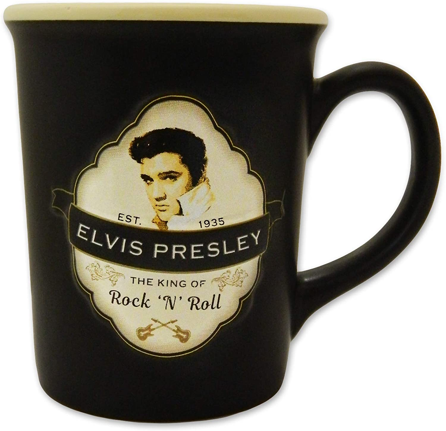 Elvis Presley 18 oz. Mug with Embossed Shield