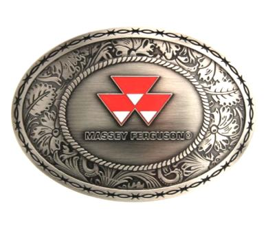 Massey Ferguson Oval Logo Belt Buckle
