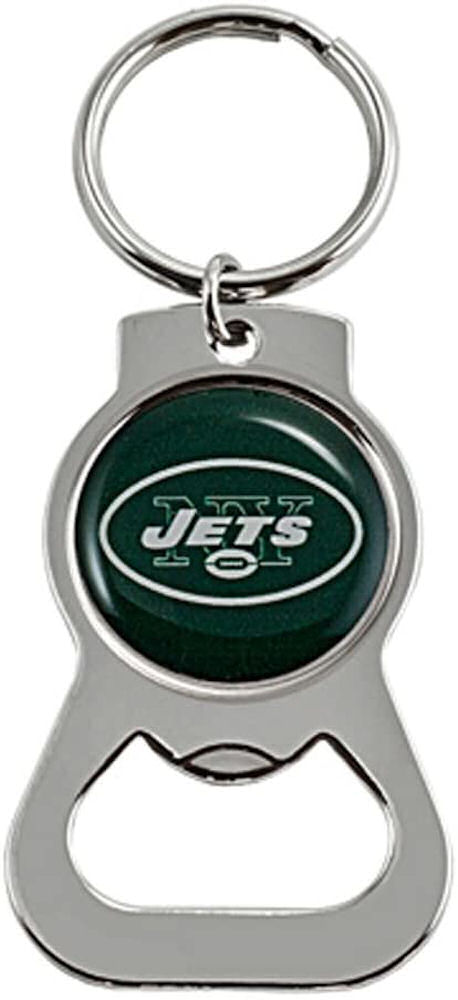New York Jets Bottle Opener Key Tag