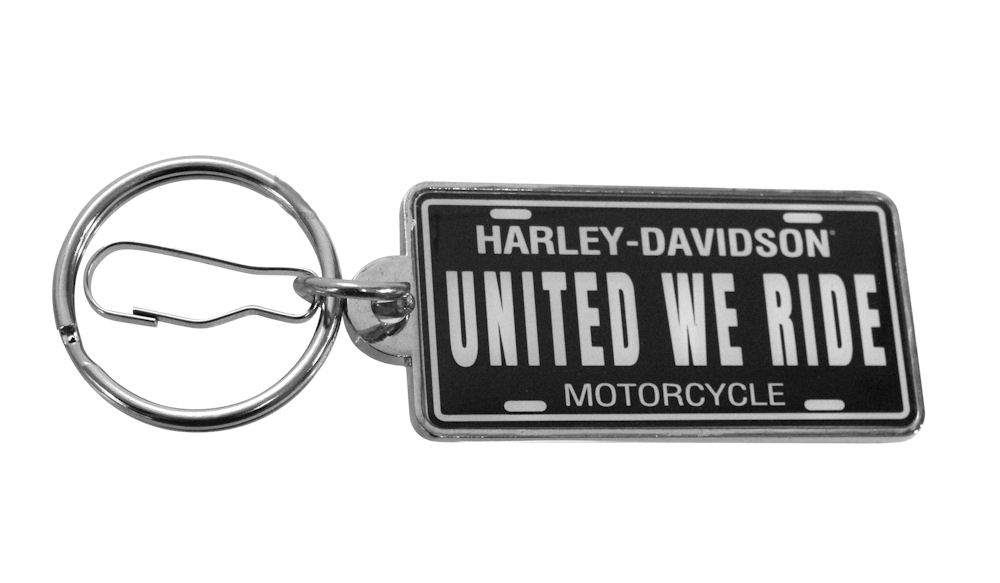 Harley Davidson United We Ride Keychain