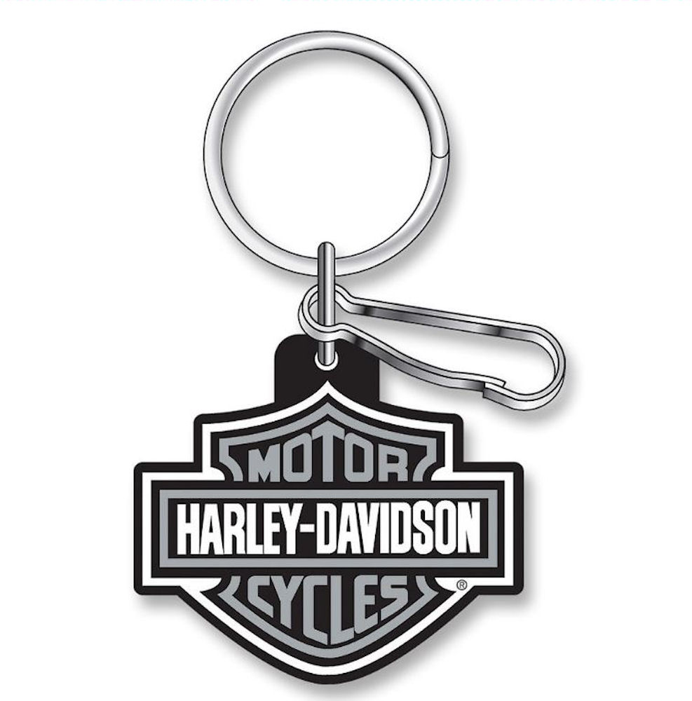 HARLEY-DAVIDSON Logo Rubber Key Ring