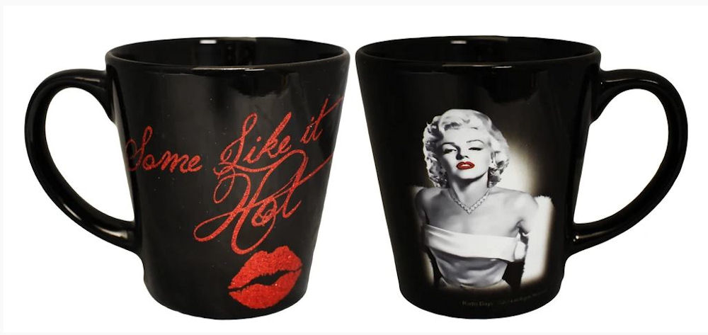 Marilyn Monroe Mug Some Like It Hot - 12 oz