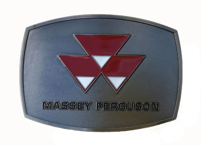 Massey Ferguson Polished Belt Buckle