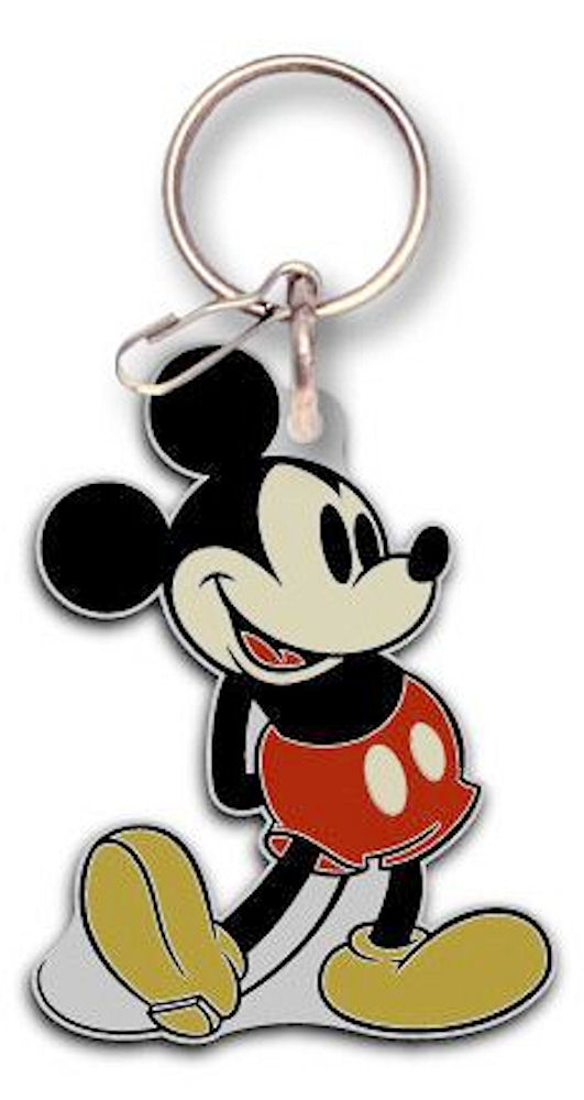Mickey Mouse Enamel Key Ring