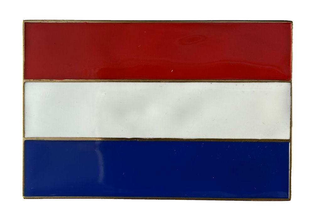 Netherlands Flag Belt Buckle