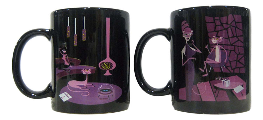 Pink Panther 40th Anniversary Edition Mug Set