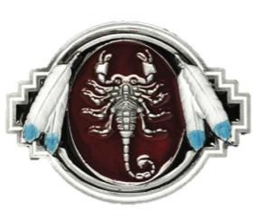 Scorpion Bolo Tie Complete with Cord