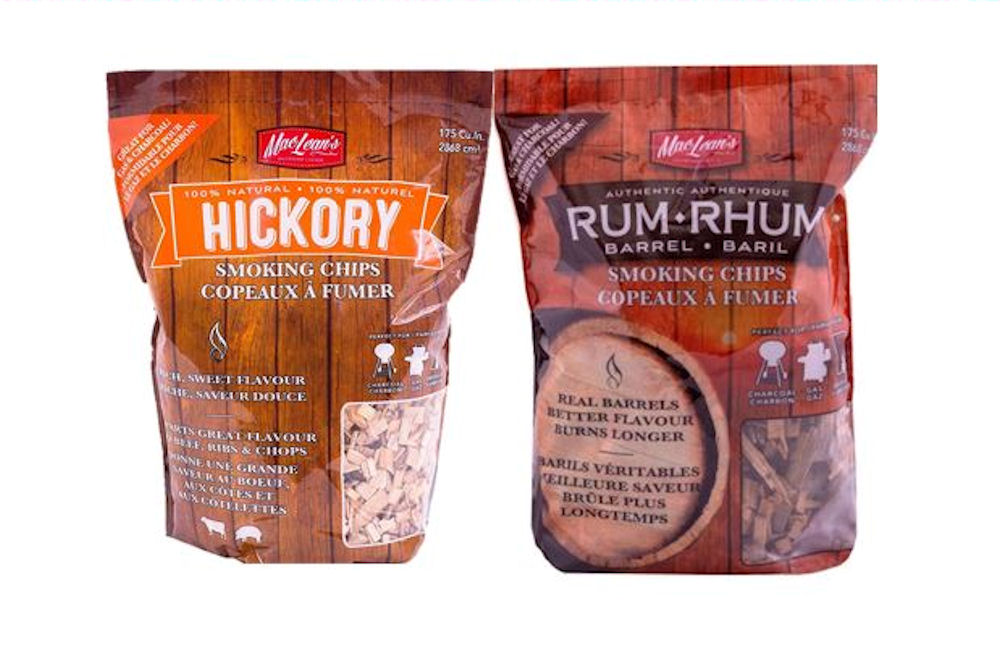 Rum Barrel Smoking Chips - Hickory Smoking Chips