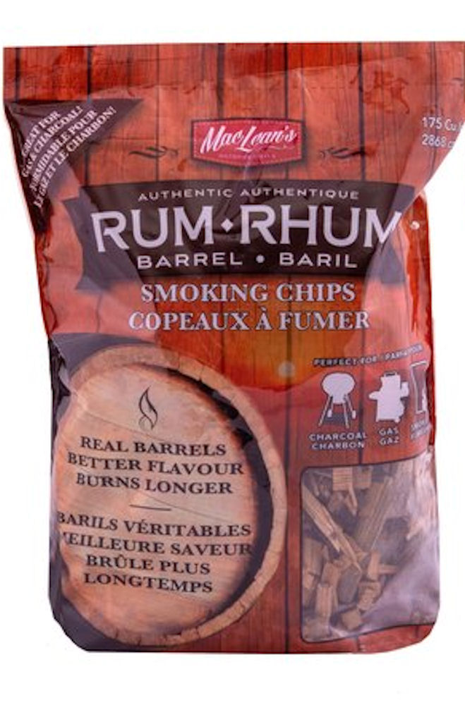 Rum Barrel Smoking Chips